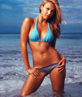 Jessica Alba nominated sexiest girl 2007 By FHM