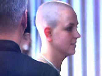 brittany spears bald result