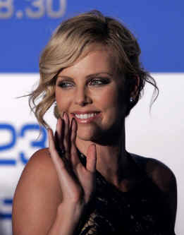 South African beauty Charlize Theron also stars in